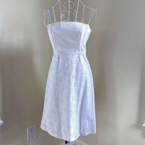 Whimsical Eyelet Lace Dress